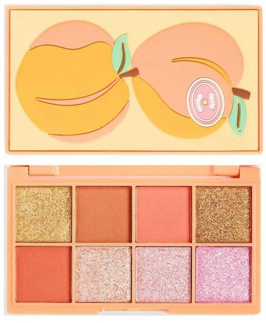 "Палитра сенки за очи ""Праскова"" - I Heart Revolution Mini Tasty Peach Eyeshadow Palette"