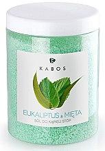 Парфюмерия и Козметика Соли за крака - Kabos Eucalyptus & Mint Foot Bath Salt