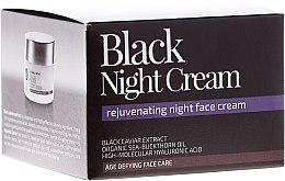 """Парфюми, Парфюмерия, козметика Нощен крем за лице """"Черна нощ"""" - Natura Siberica Fresh Spa Imperial Caviar Black Night Cream"""