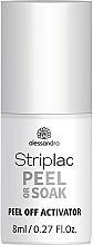 Парфюмерия и Козметика Активатор за почистване на гел лак - Alessandro International Striplac Peel Or Soak Peel Off Activator