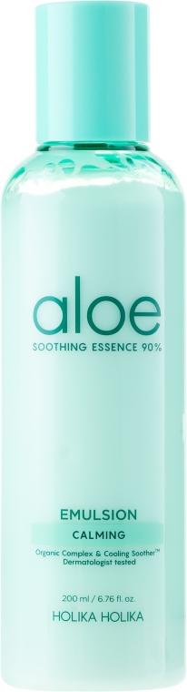 Хидратираща емулсия за лице - Holika Holika Aloe Soothing Essence 90% Emulsion Calming