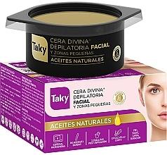 Парфюмерия и Козметика Кола маска за лице с активен въглен - Taky Facial Depilatory Wax With Natural Oils