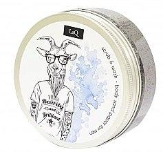 Парфюмерия и Козметика Почистващ скраб за тяло за мъже - LaQ Body Scrub&Wash Body Sand Paper For Men