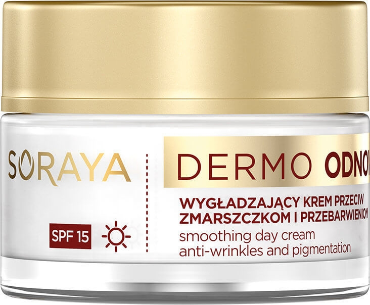 Дневен крем за лице - Soraya Dermo Odnowa 50+ Cream SPF15 — снимка N1