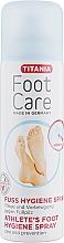 Парфюмерия и Козметика Защитен спрей за стъпала против гъбични инфекции - Titania Foot Care Spray