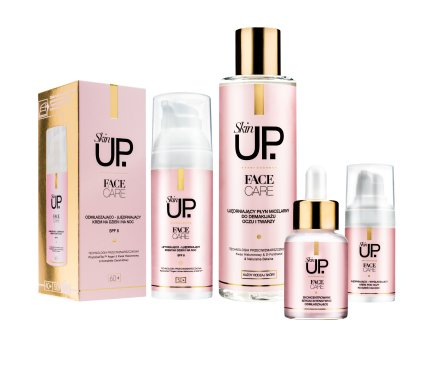 Интензивно овлажняващ крем за лице SPF 8 - Verona Skin UP Face Care SPF 8 40+ — снимка N2