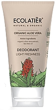 "Парфюмерия и Козметика Дезодорант ""Лекота и свежест"" - Ecolatier Organic Aloe Vera Deodorant"