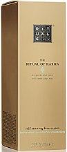 Парфюмерия и Козметика Автобронзиращ крем за лице - Rituals The Ritual of Karma Self Tanning Face Cream