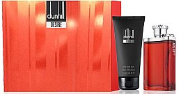 Парфюмерия и Козметика Alfred Dunhill Desire for a Men - Комплект (тоал. вода/100ml+душ гел/90ml)