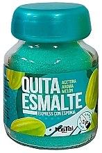 Парфюмерия и Козметика Експресен лакочистител с аромат на пъпеш - Katai Nails Express Nail Polish Remover Melon