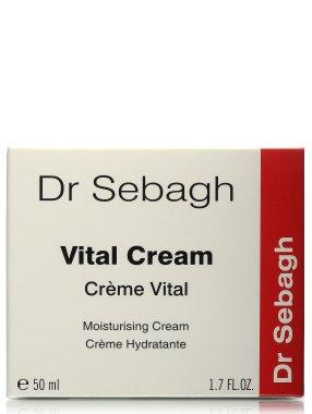 Лек овлажняващ гел за лице - Dr Sebagh Vital Cream — снимка N3