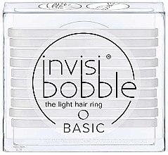 Парфюмерия и Козметика Комплект ластици за коса - Invisibobble Basic Crystal Clear