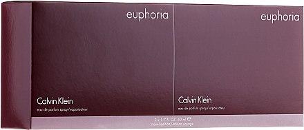 Calvin Klein Euphoria - Парфюмна вода (2*50 ml) — снимка N3