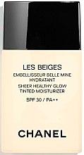 Парфюми, Парфюмерия, козметика Хидратиращ тониращ флуид за озарена кожа - Chanel Les Beiges Sheer Healthy Glow SPF 30/PA++