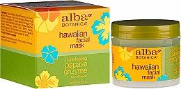 "Парфюмерия и Козметика Маска за лице с ензими ""Папая"" - Alba Botanica Natural Hawaiian Facial Scrub Pore Purifying Pineapple Enzyme"