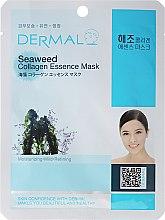 Парфюми, Парфюмерия, козметика Маска за лице с колаген и морски водорасли - Dermal Seaweed Collagen Essence Mask