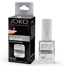 Парфюми, Парфюмерия, козметика Топ лак с матов ефект - Joko Manicure Salon Matt Top Coat