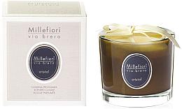"Парфюми, Парфюмерия, козметика Ароматна свещ ""Кристал"" - Millefiori Milano Via Brera Candle Cristal"
