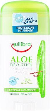 Стик дезодорант с алое - Equilibra Aloe Deo Aloes Stick — снимка N1