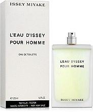 Issey Miyake L'Eau D'Issey Pour Homme - Тоалетна вода (тестер без капачка)  — снимка N2