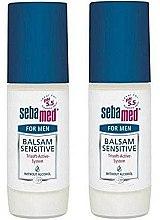 Парфюми, Парфюмерия, козметика Комплект мъжки дезодоранти - Sebamed Balsam Deodorant Sensitive For Men (deo/50mlx2)