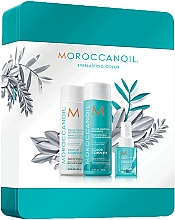 Парфюмерия и Козметика Комплект за коса - Moroccanoil Color Complete Holiday Set (шамп./250ml + балсам/250ml + спрей/50ml)