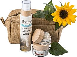 Парфюмерия и Козметика Комплект за нормална и суха кожа - Shy Deer (емулсия/200ml + крем за лице/50ml + околоочен крем/30ml)