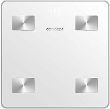 Парфюмерия и Козметика Електронен смарт кантар VO4000, бял - Concept Body Composition Smart Scale