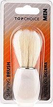 Парфюмерия и Козметика Четка за бръснене, бяла 30338 - Top Choice
