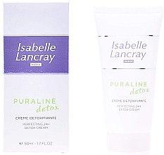 Парфюмерия и Козметика Детоксикиращ крем за лице - Isabelle Lancray Puraline Detox Cream