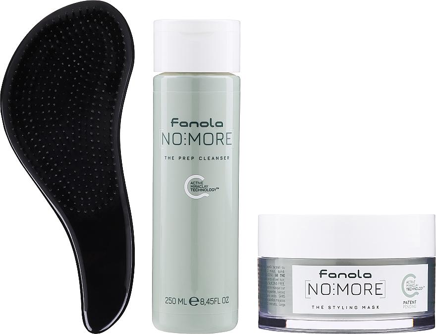 Комплект за коса - Fanola No More (шампоан/250ml + маска/200ml + четка)