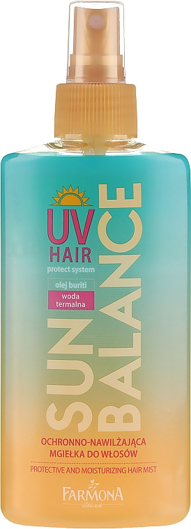 Хидратиращ спрей за коса - Farmona Sun Balance Hair Mist — снимка N1
