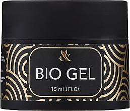 Парфюмерия и Козметика Прозрачен био гел за изграждане - F.o.x Bio Gel 3 in 1 Base Top Builder