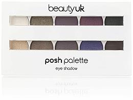 Палитра сенки за очи - Beauty UK Posh Eye Shadow Palette — снимка N1