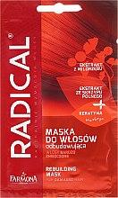 Парфюми, Парфюмерия, козметика Възстановяваща маска за увредена коса - Farmona Radical Mask