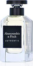 Парфюмерия и Козметика Abercrombie & Fitch Authentic Men - Тоалетна вода (тестер с капачка)