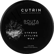 Парфюмерия и Козметика Стилизиращ восък за коса - Cutrin Routa Strong Styling Wax