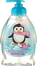 "Парфюми, Парфюмерия, козметика Детски душ гел ""Пингвин"" - Chlapu Chlap Bath & Shower Gel"
