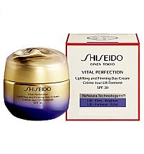 Парфюмерия и Козметика Дневен крем за лице против стареене - Shiseido Vital Perfection Uplifting and Firming Day Cream SPF 30