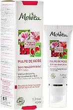 Парфюми, Парфюмерия, козметика Укрепващ крем против първи признаци на стареене - Melvita Pulpe De Rose Plumping Radiance Cream