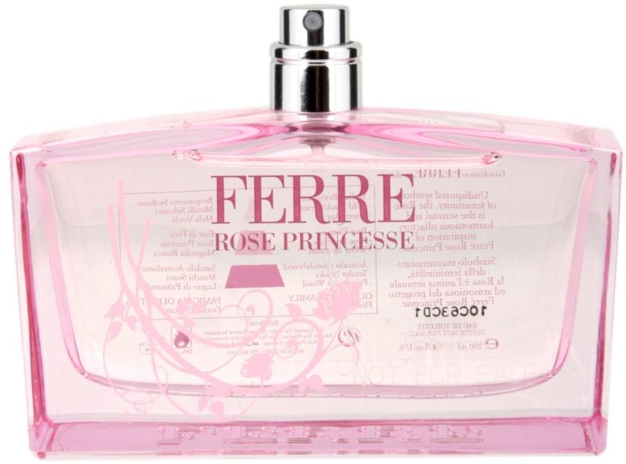 Gianfranco Ferre Rose Princesse - Тоалетна вода (тестер без капачка)  — снимка N1