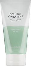 Парфюмерия и Козметика Себорегулираща почистваща пяна за лице - The Saem Natural Condition Cleansing Foam Sebum Controlling