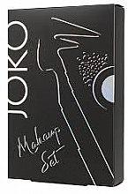 Joko Makeup Set 1 (очна линия/5g + сенки за очи/5g + молив за вежди/5g) - Комплект за грим — снимка N3