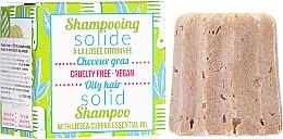Парфюмерия и Козметика Твърд шампоан за мазна коса - Lamazuna Solid Shampoo For Oily Hair With Litsea Cubeba