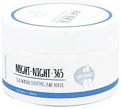 Парфюмерия и Козметика Тампони за нощна грижа с морска вода и колаген - Wish Formula Night Night 365 Sea Water Sleeping Pad Mask