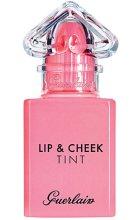 Парфюми, Парфюмерия, козметика Червило-тинт за устни и скули - Guerlain La Petite Robe Noire Lip & Cheek Tint