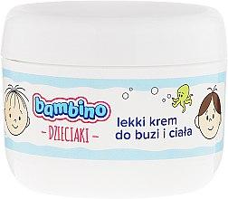 Парфюмерия и Козметика Детски лек крем за лице и тяло - Bambino Kids