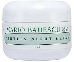 Парфюмерия и Козметика Нощен крем за лице с протеини - Mario Badescu Protein Night Cream