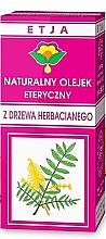 Парфюмерия и Козметика Натурално етерично масло от чаено дърво - Etja Natural Essential Tea Tree Oil
