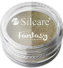 Парфюмерия и Козметика Пудра за нокти - Silcare Fantasy Chrome Powder